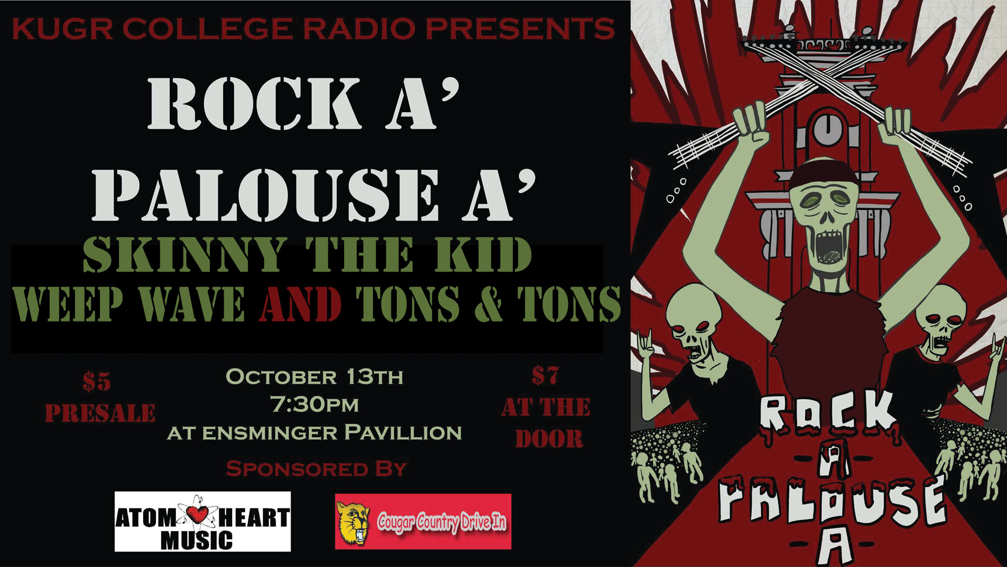 Join us at our second annual rock concert!